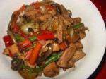 Capsicum and Chicken Stir-Fry